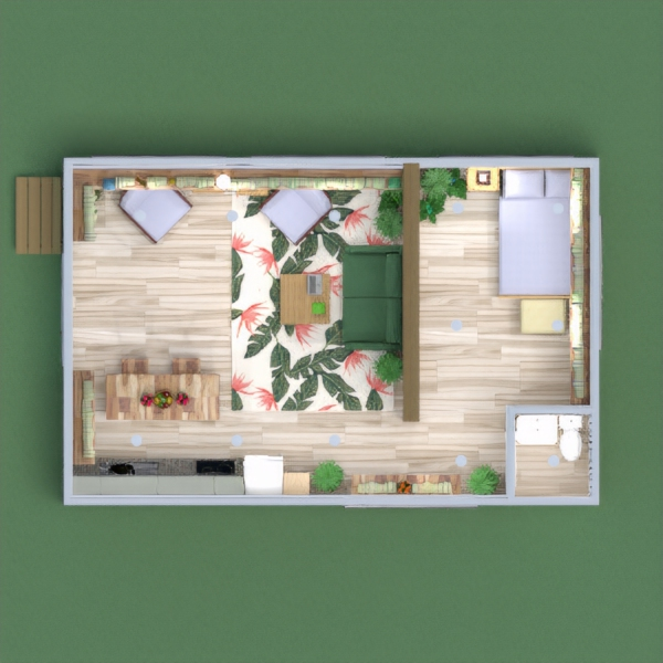 floorplans house bedroom kitchen dining room 3d