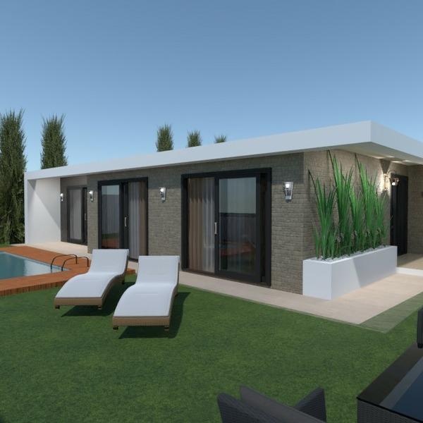 planos casa muebles decoración exterior iluminación 3d