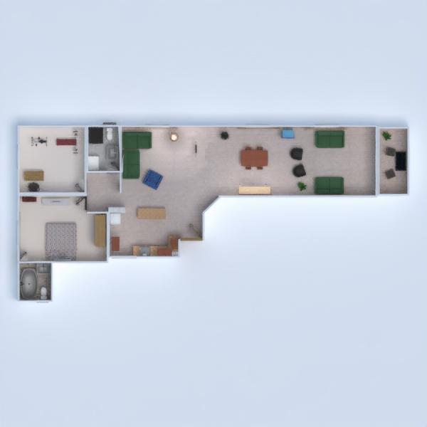 планировки квартира дом терраса мебель 3d