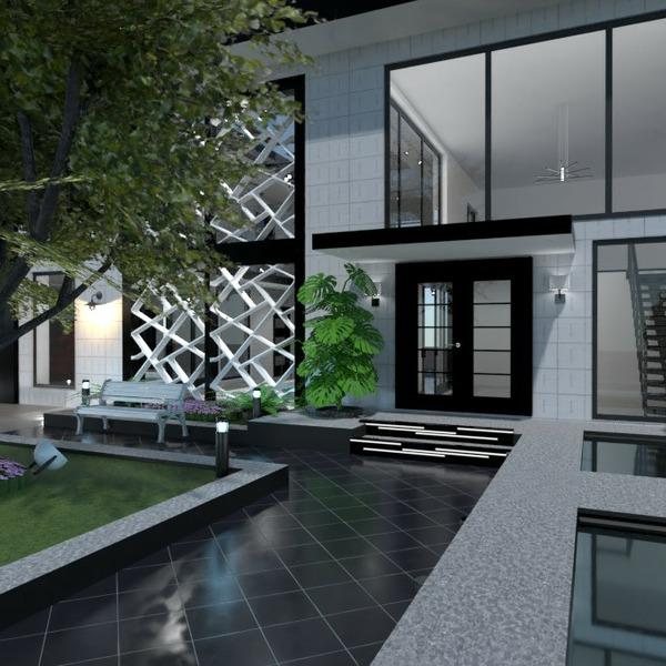 planos casa decoración bricolaje salón exterior 3d