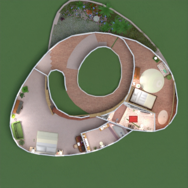planos cuarto de baño dormitorio salón cocina arquitectura 3d