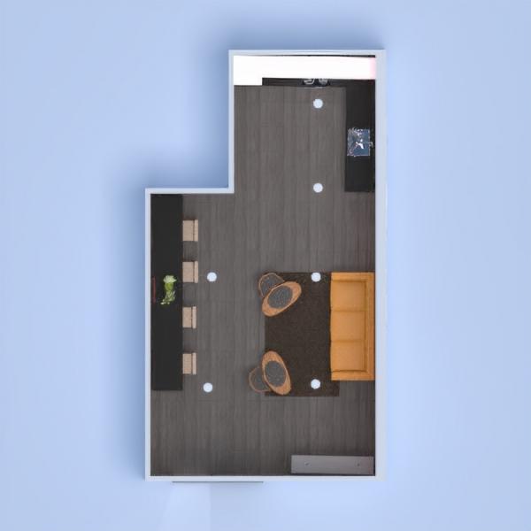 floorplans house furniture living room kitchen dining room 3d