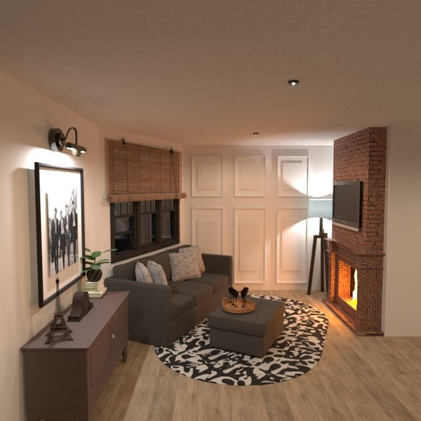 floorplans apartment terrace kitchen outdoor architecture 3d