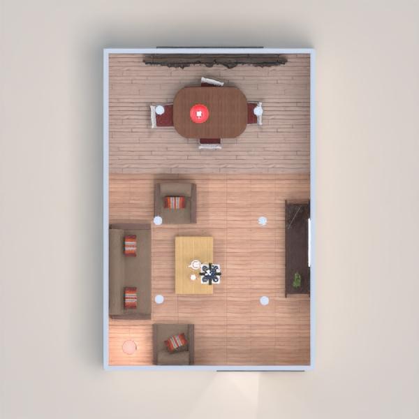 планировки мебель сделай сам гостиная освещение столовая 3d