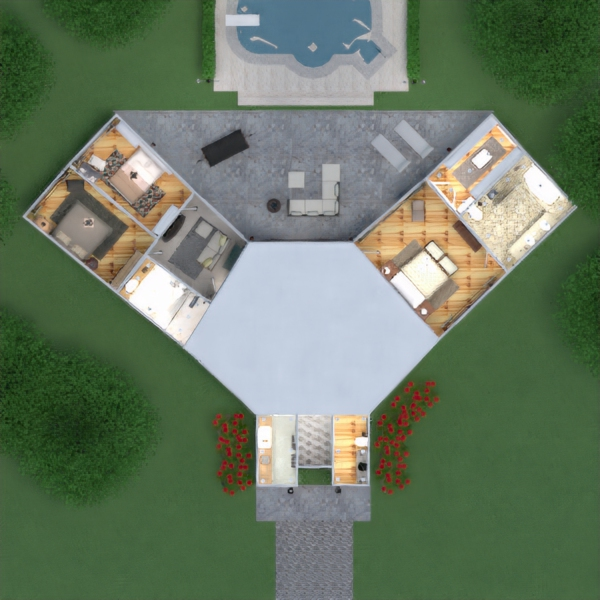 floorplans haus terrasse mobiliar dekor badezimmer schlafzimmer wohnzimmer küche outdoor beleuchtung landschaft haushalt café esszimmer architektur lagerraum, abstellraum studio eingang 3d