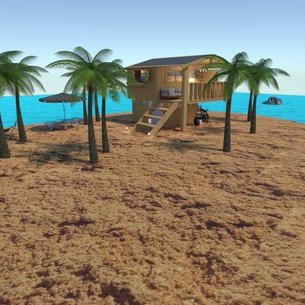 floorplans mieszkanie taras meble kuchnia krajobraz 3d
