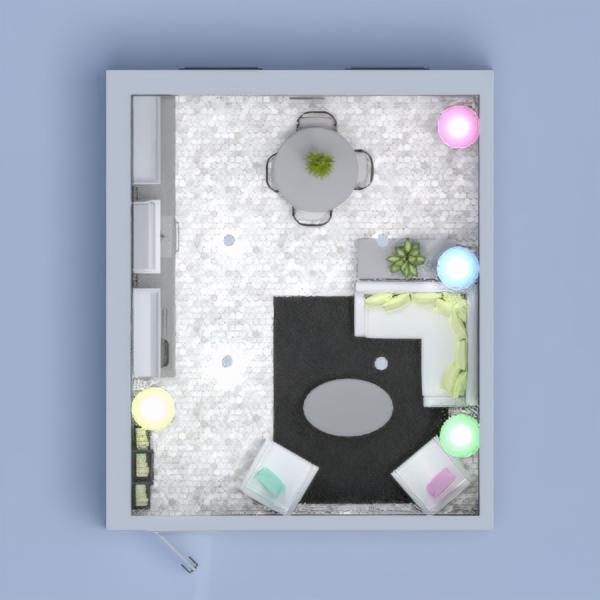планировки мебель сделай сам гостиная кухня освещение 3d