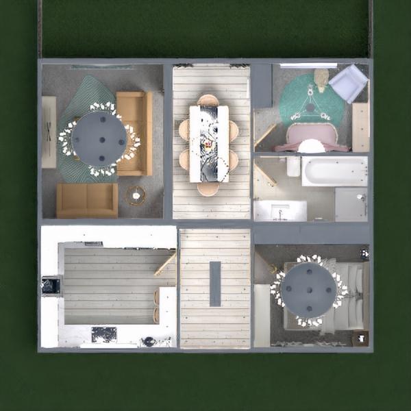 планировки дом освещение 3d
