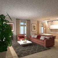 floorplans apartamento mobílias banheiro quarto quarto cozinha iluminação 3d