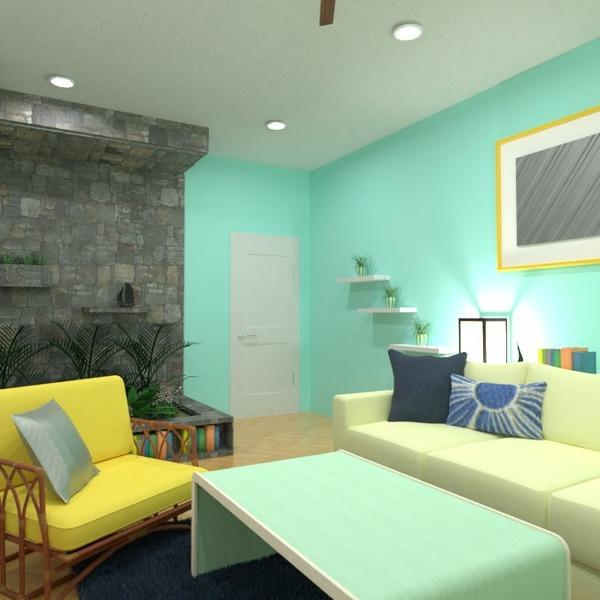 floorplans mobílias decoração quarto iluminação 3d