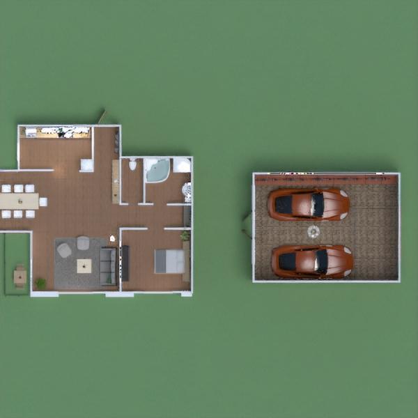 floorplans apartamento casa garagem escritório iluminação 3d