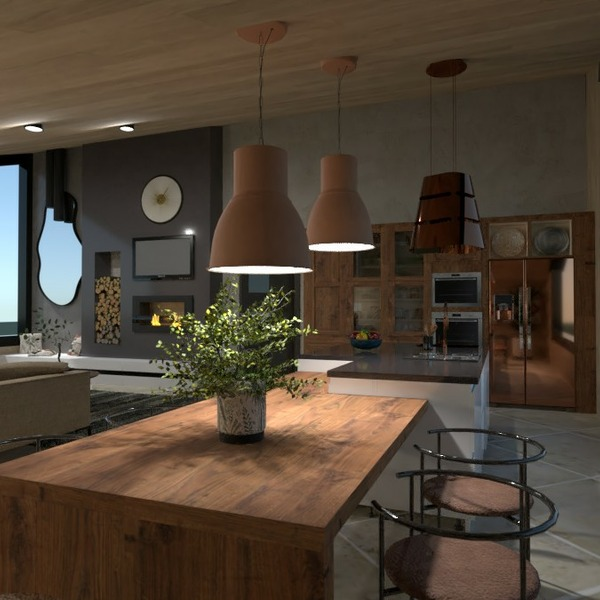 floorplans casa mobílias decoração área externa 3d