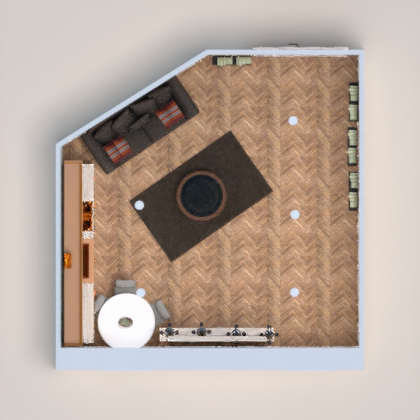 floorplans furniture living room kitchen household dining room 3d