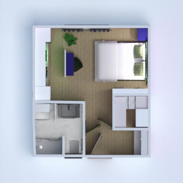 планировки квартира ванная студия 3d