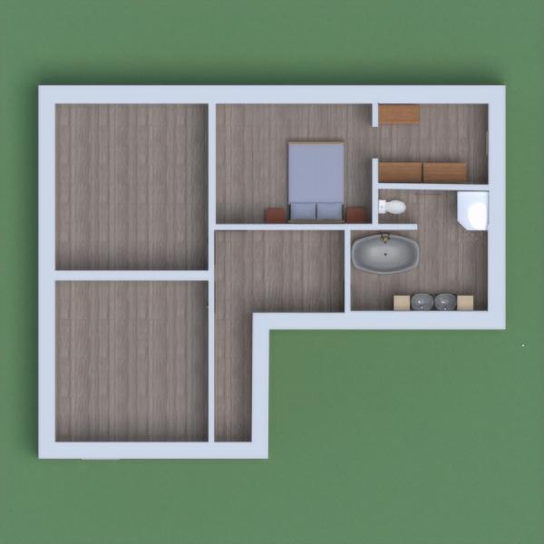 floorplans garažas virtuvė 3d