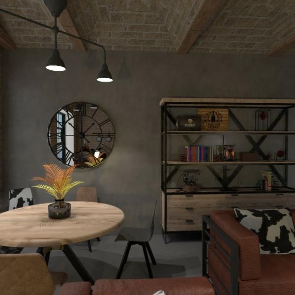 floorplans meble wystrój wnętrz pokój dzienny jadalnia przechowywanie 3d