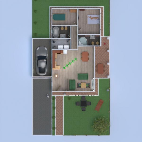 floorplans house outdoor 3d