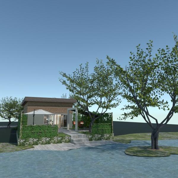 planos casa dormitorio exterior reforma 3d