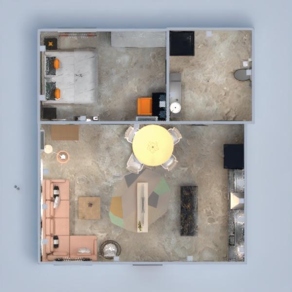 floorplans butas baldai renovacija namų apyvoka prieškambaris 3d
