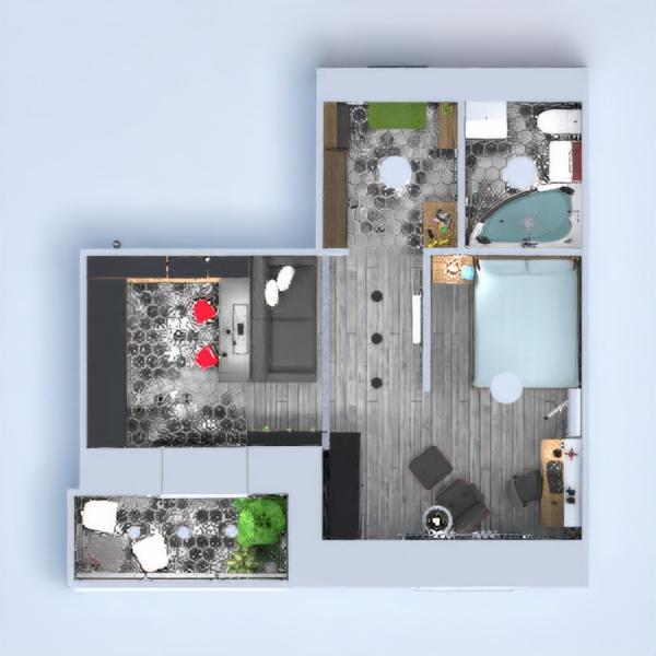 планировки квартира мебель декор ремонт студия 3d
