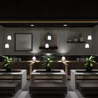 planos bricolaje cocina cafetería comedor descansillo 3d