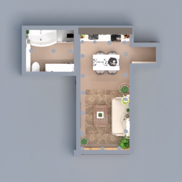 floorplans wohnung haus dekor do-it-yourself beleuchtung 3d