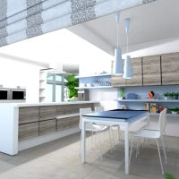 floorplans mobílias cozinha iluminação 3d