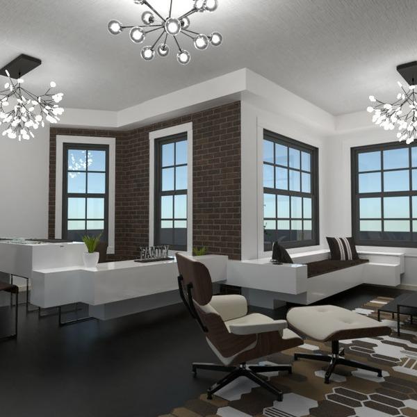 планировки сделай сам гостиная столовая 3d