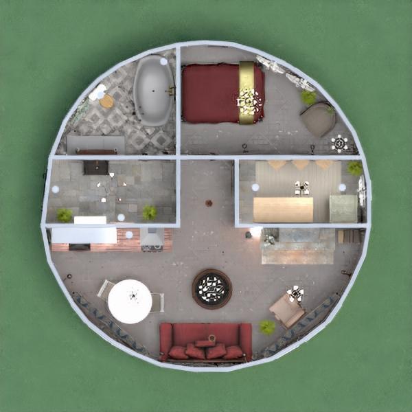 floorplans house bedroom living room kitchen 3d