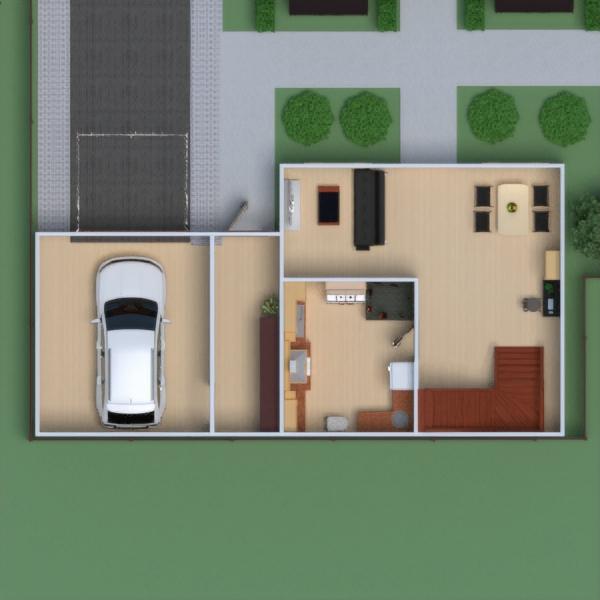 floorplans namas baldai vonia miegamasis svetainė garažas virtuvė namų apyvoka valgomasis 3d