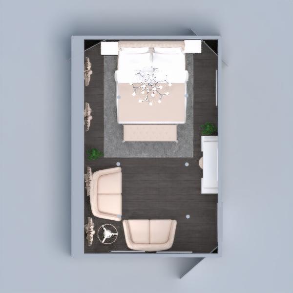 floorplans bedroom lighting 3d