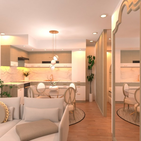 планировки квартира терраса спальня гостиная освещение 3d