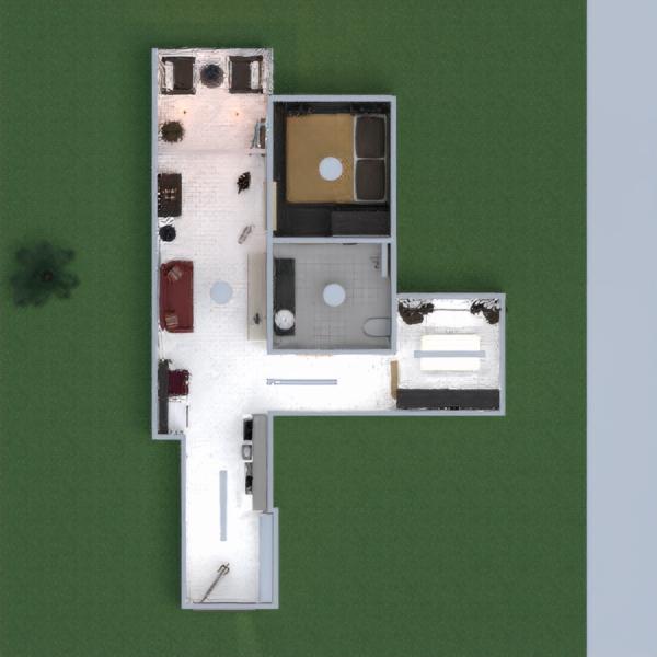 floorplans 公寓 diy 浴室 卧室 3d