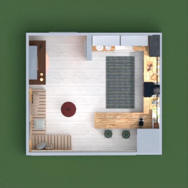 floorplans furniture kitchen 3d