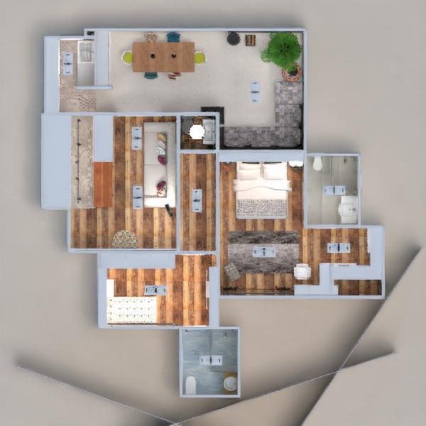 floorplans wohnung terrasse dekor badezimmer schlafzimmer küche beleuchtung haushalt esszimmer architektur 3d