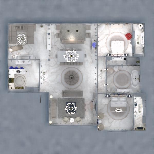 planos casa muebles decoración cuarto de baño dormitorio 3d