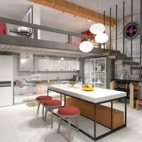 floorplans apartamento mobílias decoração faça você mesmo banheiro quarto cozinha iluminação paisagismo utensílios domésticos arquitetura patamar 3d