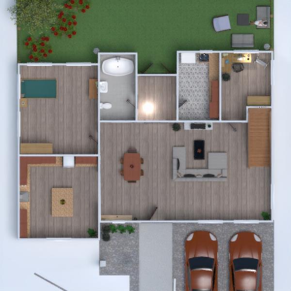 планировки гостиная кухня техника для дома столовая студия 3d