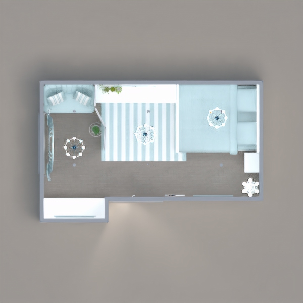 floorplans bedroom kids room lighting storage studio 3d