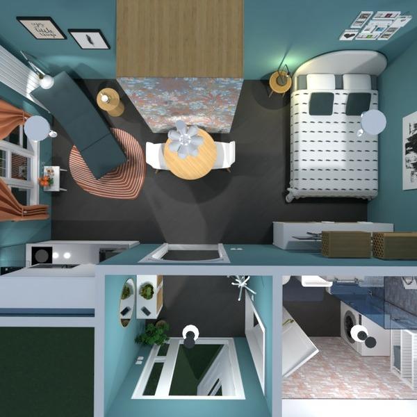 floorplans apartamento mobílias quarto quarto arquitetura 3d