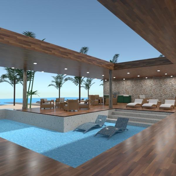 floorplans terrace outdoor landscape household architecture 3d