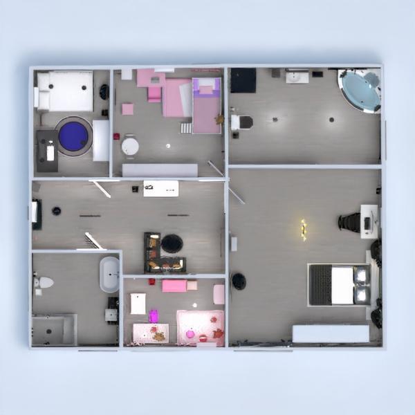 планировки мебель спальня детская освещение техника для дома 3d