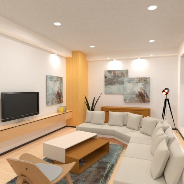 планировки декор гостиная освещение 3d