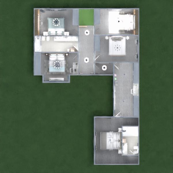 floorplans namas garažas renovacija namų apyvoka 3d