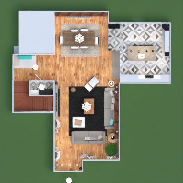 floorplans haus terrasse mobiliar dekor badezimmer schlafzimmer wohnzimmer küche outdoor beleuchtung renovierung landschaft haushalt esszimmer architektur lagerraum, abstellraum eingang 3d
