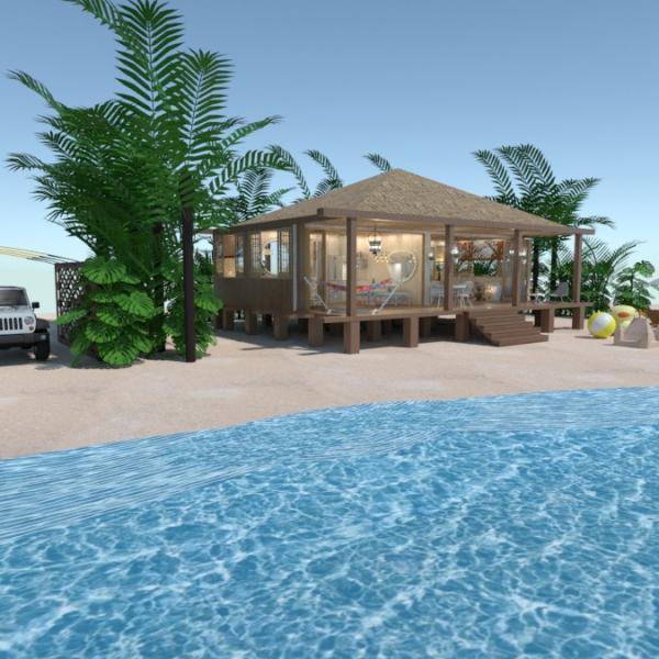 floorplans house bedroom living room outdoor landscape 3d