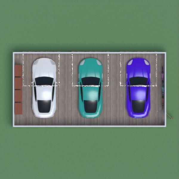 floorplans garažas renovacija sandėliukas 3d