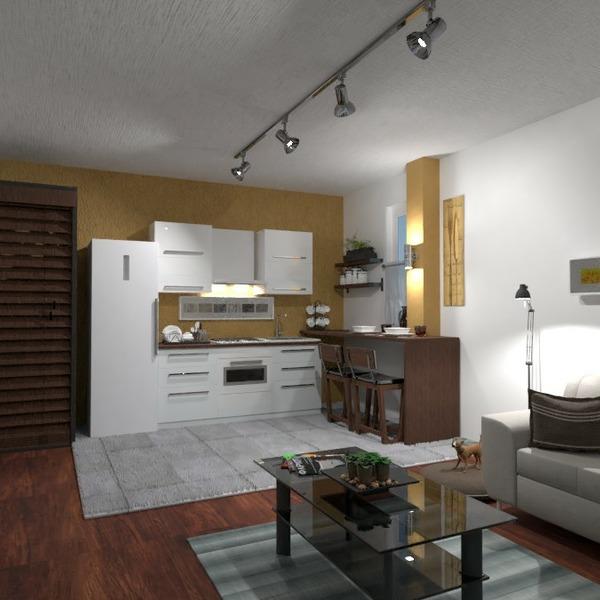 floorplans mieszkanie sypialnia pokój dzienny kuchnia przechowywanie 3d
