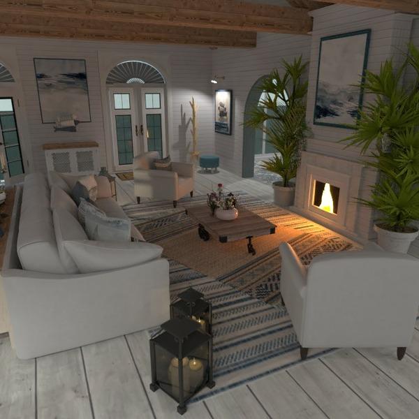 floorplans casa mobílias decoração área externa iluminação 3d