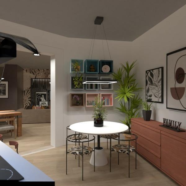 floorplans mieszkanie meble wystrój wnętrz oświetlenie 3d